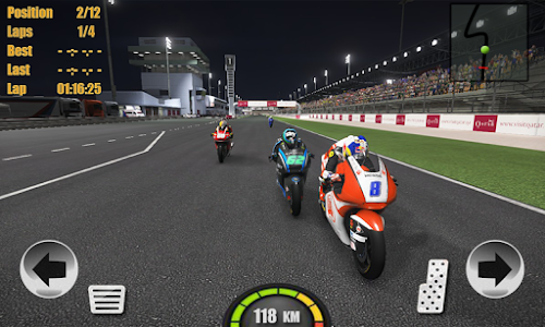 screenshot of Motogp Racing Top Bike 3D version 1.0
