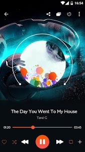 screenshot of Music player version 7.0