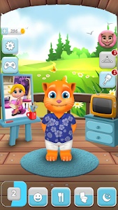 screenshot of My Talking Cat Tommy version 1.3.9