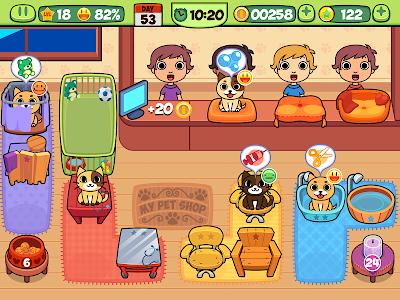 Download My Virtual Pet Shop - Cute Animal Care Game 1.9 APK