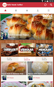 screenshot of Nefis Yemek Tarifleri version Varies with device