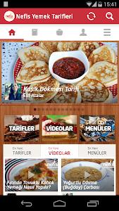 screenshot of Nefis Yemek Tarifleri version 0.6.100