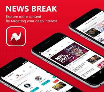 screenshot of News Break: Local & Breaking version 3.8