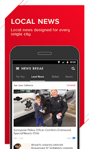 screenshot of News Break - Local & Breaking version 3.1.2