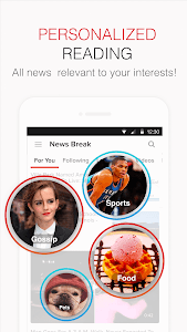 screenshot of News Break: Local & Breaking version 3.9.9