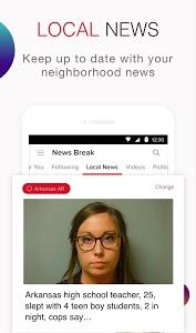 screenshot of News Break: Local & Breaking version 4.5.5
