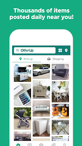 screenshot of OfferUp - Buy. Sell. Offer Up version Varies with device
