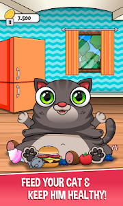 screenshot of Oliver the Virtual Cat version 1.31