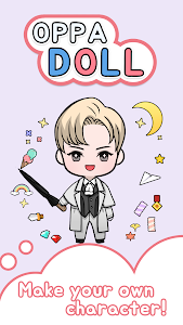 screenshot of Oppa doll version 5.0