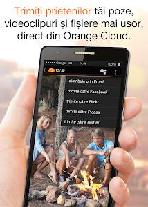 screenshot of Orange Cloud version 1.9.4