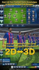 screenshot of PES CLUB MANAGER version 1.3.3