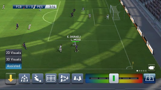 screenshot of PES CLUB MANAGER version 2.1.1