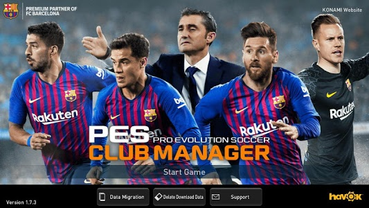 Download PES CLUB MANAGER 1.7.4 APK