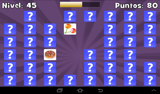 screenshot of Pairs: challenge your mind! version 1.0.2