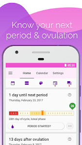 Download Period and Ovulation Tracker, Menstrual Cycle App  APK