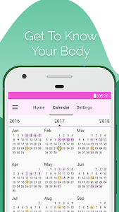 screenshot of Period and Ovulation Tracker version 6.4