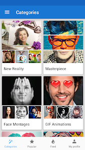 screenshot of Photo Lab Picture Editor: face effects, art frames version Varies with device