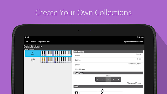 Download Piano Chord, Scale, Progression Companion 6.26.1025 APK