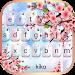 Download Pink Glass Sakura Keyboard Theme 1.0 APK
