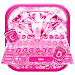 Download Pink Sparkle Diamond Keyboard Theme 1.0 APK