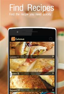 screenshot of Pizza Recipes version 6.0