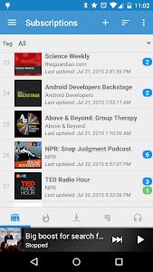 screenshot of Podcast Republic version 2.6.13