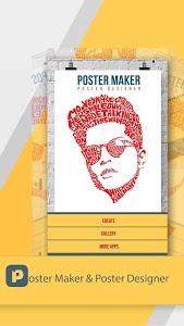 screenshot of Poster Maker & Poster Designer version 2.3.5
