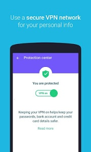 screenshot of Protect Free VPN+Data Manager version 70.1.5.9.90