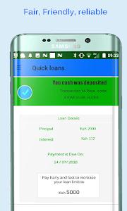 screenshot of Quick - M loans version 8.sa2.12