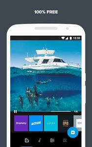 screenshot of Quik – Free Video Editor for photos, clips, music version 4.7.2.3821-4f16384af