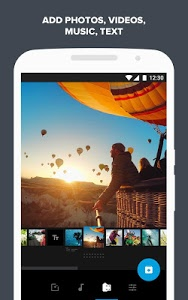 screenshot of Quik – Free Video Editor for photos, clips, music version 5.0.4.4007-0d67f2220