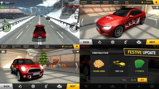 screenshot of Racing Fever version Varies with device