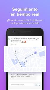 screenshot of Rappi version 4.5.1