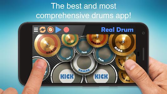 screenshot of Real Drum - The Best Drum Pads Simulator version 7.25