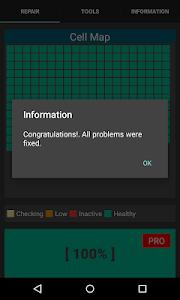 screenshot of Repair Battery Life PRO version 425