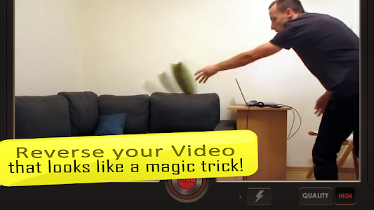 screenshot of Reverse Movie FX - magic video version 1.3.4