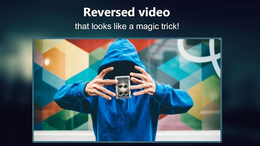 screenshot of Reverse Movie FX - magic video version 1.4.0.1.8