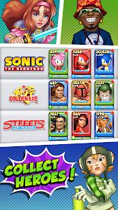 screenshot of SEGA Heroes version 49.155170