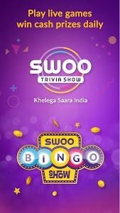 screenshot of Swoo - Live Trivia and Bingo version 5.9.2