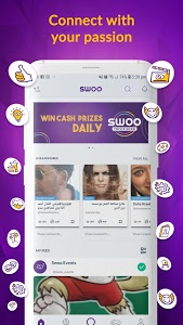 screenshot of Swoo - Live Trivia and Bingo version 6.0.0