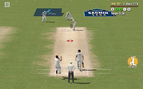screenshot of Sachin Saga Cricket Champions version 1.1.1