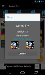 screenshot of Series en español 2018 version 4.2