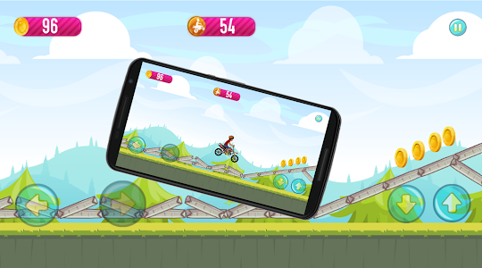 screenshot of Shiva Moto Bike pro game version 1.0