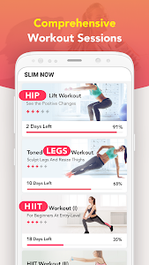 screenshot of Slim NOW 2019 - Weight Loss Workouts version 1.0.22