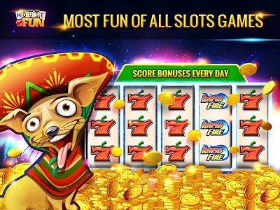 screenshot of Free Slots Casino Games - House of Fun by Playtika version Varies with device