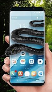 Download Snake on screen live wallpaper for prank ? 2.2.0.2200 APK