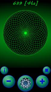 screenshot of Solfeggio Frequencies version 1.0