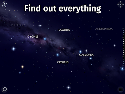 screenshot of Star Walk 2 Free - Identify Stars in the Sky Map version 2.5.0.326