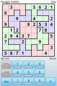 screenshot of Super Sudoku version 1.7