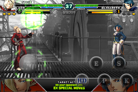 screenshot of THE KING OF FIGHTERS-A 2012(F) version 1.0.5
